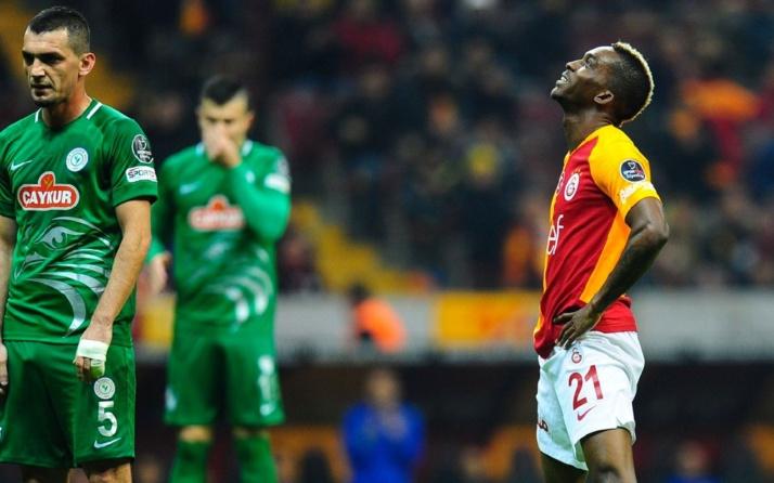Çaykur Rizespor Galatasaray maçı canlı anlatım! Rizespor