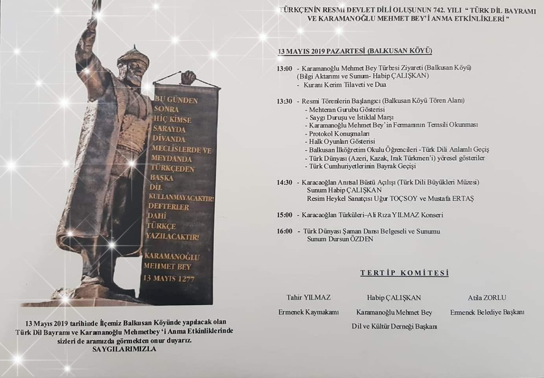 Türk Dil Bayramı ne zaman kutlanır? 13 Mayıs Türk Dil