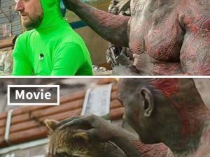 Ünlü film sahneleri bakın nasıl çekiliyor