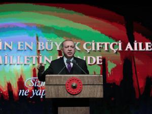 Başkan Erdoğan: Mart'ta 3 milyar 716 milyon lira destek ödemesi yapacağız
