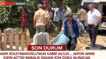 Naim Süleymanoğlu kabri açıldı