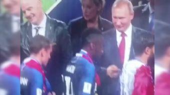 Dünya Kupası madalyasını cebe attı