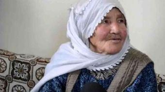 Kayseri´de yaşayan 92 yaşında ve 27 torun sahibi olan Ümmühani Güllü, kendisine sorulan ´31 Mart yer