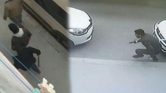 Esenyurt´ta uyuşturucu satıcısı olduğu iddia edilen şüpheliler araçla geldikleri mahallede terör est