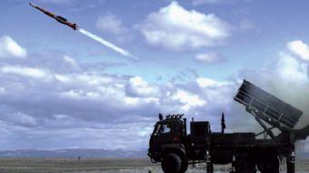 ROKETSAN tarafından yerli imkanlarla geliştirilen hava savunma sistemi HİSAR-A son yapılan atış test