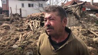 Köylüler yaşanan deprem sonrası o anları anlattı