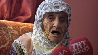 Bursa´nın İnegöl ilçesinde yaşayan 113 yaşındaki Şükriye Bayram, 3 padişah, 12 cumhurbaşkanı ve 38 b