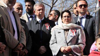 CHP'nin Ankara Büyükşehir Belediye Başkan Adayı Mansur Yavaş, BBP´nin merhum Genel Başkanı Muhsin Ya