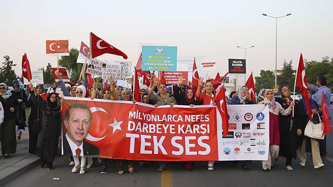 Sivil toplum örgütleri FETÖ'nün darbe girişimini kınadı