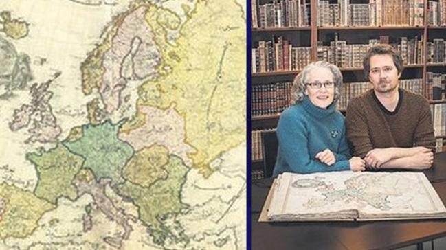Türklerin ilk basılı atlası Norveç'te ortaya çıktı
