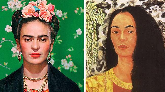 Frida Kahlo'ya 'epilasyon' yaptılar