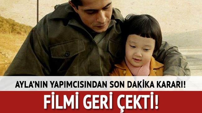 Ayla filmi Frankfurt Türk Filmi Festivali'nden çekildi