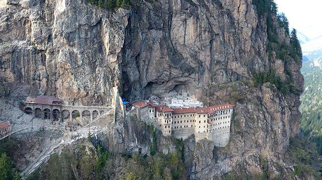 Αποτέλεσμα εικόνας για sümela manastırı