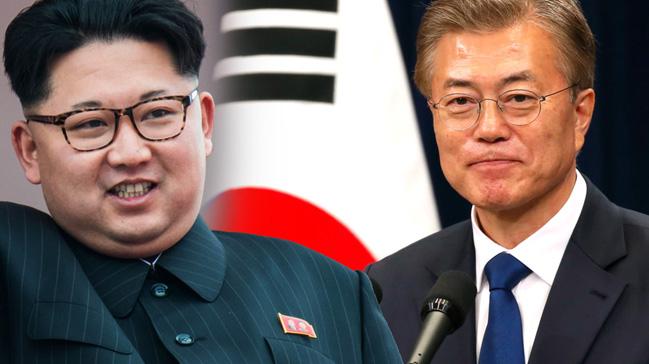 Kuzey ve Güney Kore'nin 65 yıldır süren 'savaş durumu'nu sona erdirdiklerini açıklamaları bekleniyor