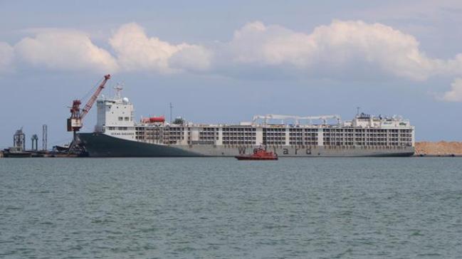 Uruguay'dan gelen gemi Samsun'u kokuttu