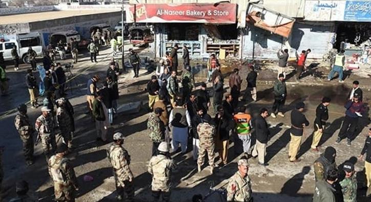 Belucistan Avami Partisi'nin seçim bürosuna düzenlenen saldırıda 20 kişi yaralandı