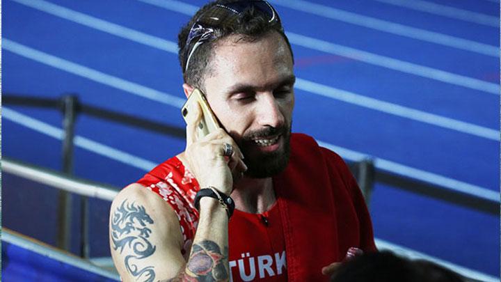 Başkan Erdoğan altın madalya kazanan Guliyev'i telefonla arayarak tebrik etti