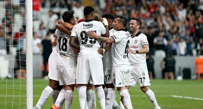 Beşiktaş'a tek gol yetti