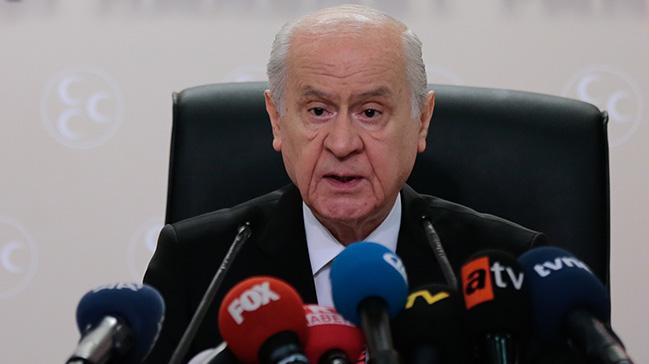 MHP Genel Başkanı Bahçeli, genel merkeze döviz bozdurun talimatı verdi