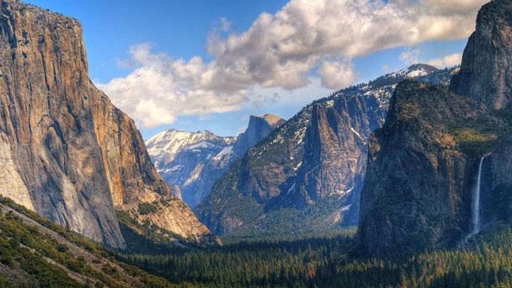 ABD'de Yosemite Vadisi 25 Temmuz'da sonra yeniden ziyarete açıldı
