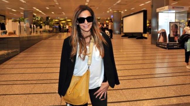 Yunan şarkıcı Despina Vandi, İstanbul'da sahne aldı