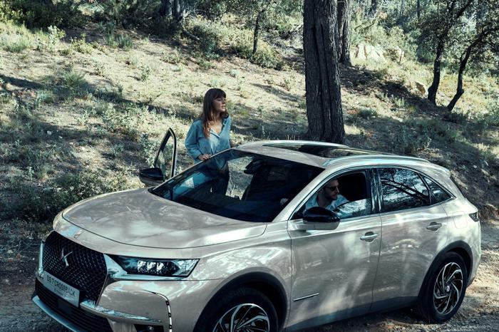 DS'in yeni hibrit SUV'u yolda