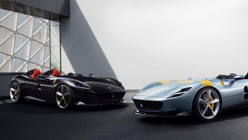 Yeni Ferrari Monza SP1 ve SP2 tanıtıldı