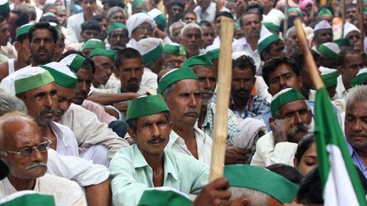 Hindistan'da çiftçi protestosuna polis müdahalesi