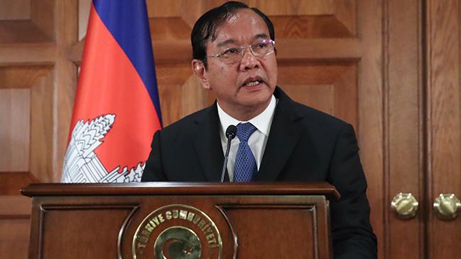 Kamboçya Dışişleri Bakanı Sokhonn: Türkiye'yi FETÖ konusunda desteklemeye devam edeceğiz