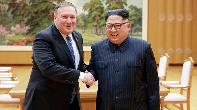 ABD Dışişleri Bakanı Pompeo, Pazar günü Kuzey Kore'ye gidiyor