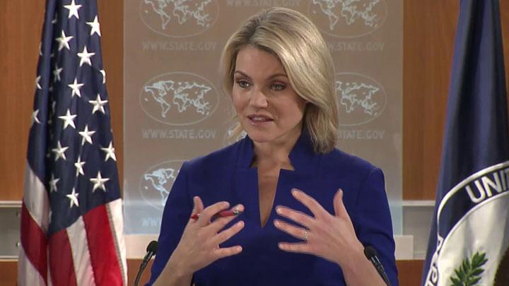 ABD Dışişleri Bakanlığı Sözcüsü Nauert: Irak'ın demokratik sürecine saygı duyuyoruz