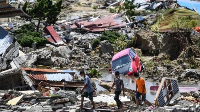 Avustralya ve Yeni Zelanda'dan Endonezya'ya yardım