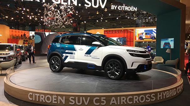 Citroën C5 Aircross görücüye çıktı