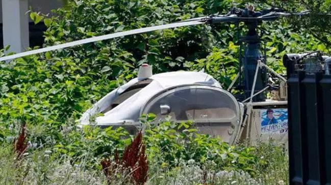 Helikopterle firar eden ünlü gangster Faid bu sabah yakalandı