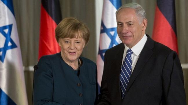 Almanya Başbakanı Merkel İsrail'e gidiyor