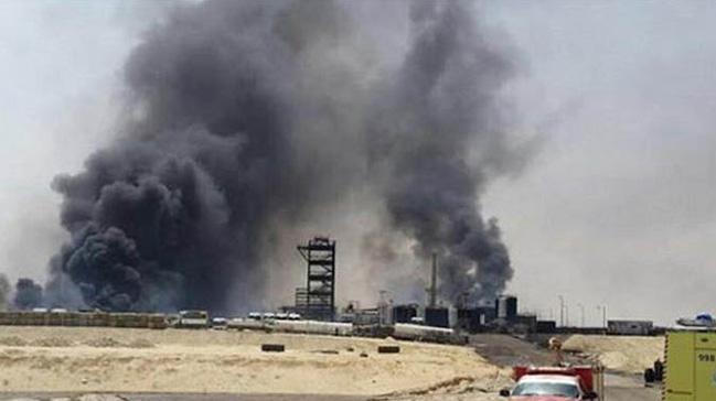 Suudi Arabistan'da petrokimya tesisinde yangın: 1 ölü, 11 yaralı