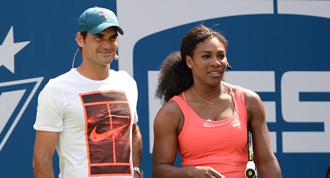 Federer ve Serena Williams karşı karşıya gelecek