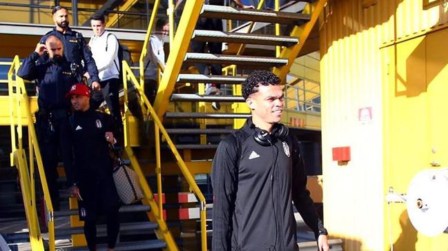 Beşiktaş kafilesi Malmö'ye geldi