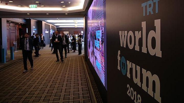 TRT World Forumun ilk gününde 4 açık, 6 kapalı oturum yapıldı