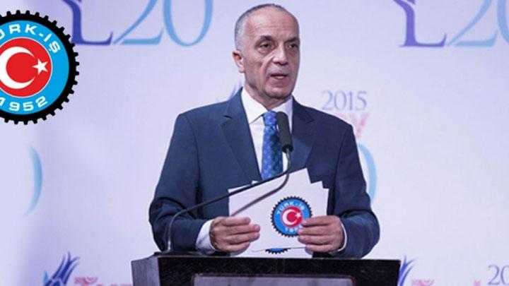 Türk-İş Genel Başkanı Atalay: TTK'ya yılbaşından evvel bin 500 işçi alınsın, iş başı yapsın