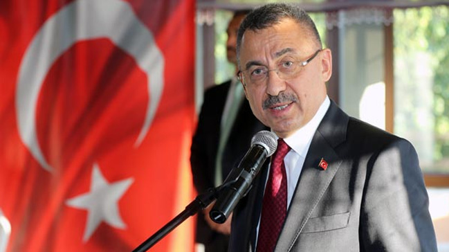 Cumhurbaşkanı Yardımcısı Oktay: Devletimiz, teröre ve destekçilerine misliyle cevap verecektir