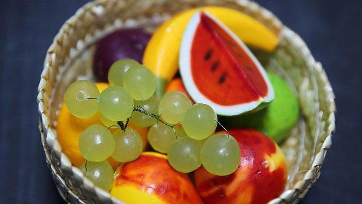 Edirne'den yapılan Osmanlı'dan yadigar mis meyve sabunu, ihraç ürünü haline geldi