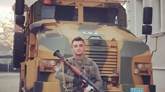 PKK'lı teröristlerin düzenlediği saldırıda yaralanan askerlerimizden Uzman Çavuş Yahya Şen şehit oldu