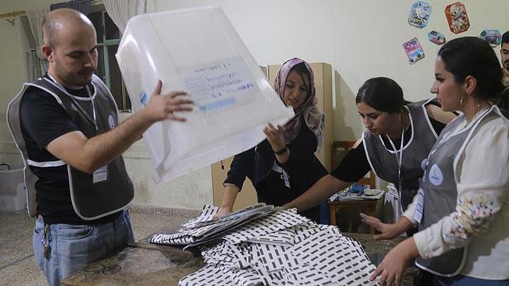 IKBY'de kesin olmayan sonuçlara göre KDP 595 bin 592 oyla sandıktan birinci parti olarak çıktı