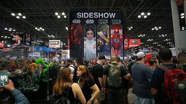 New York'ta popüler kültür etkinliği Comic Con başladı