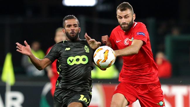 Akhisarspor deplasmanda Standard Liege'ye 2-1 mağlup oldu