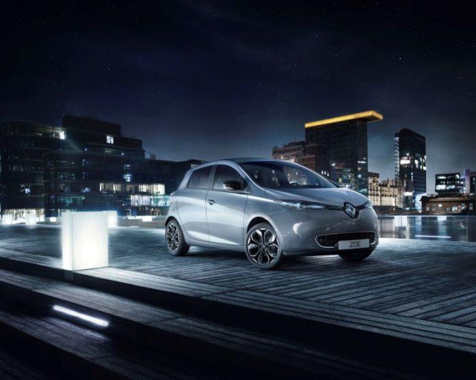 Renault Zoe İconic Paris'te!