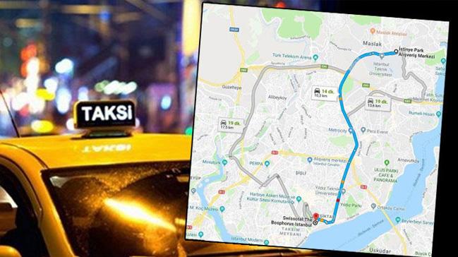 10 kilometrelik mesafeye 213 TL alan taksici mahkemelik oldu