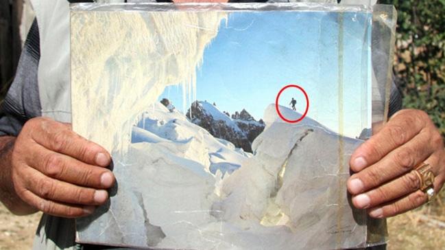 26 yıl önce Alpler'de kaybolan dağcının kolyesinden teşhis edildiği öğrenildi