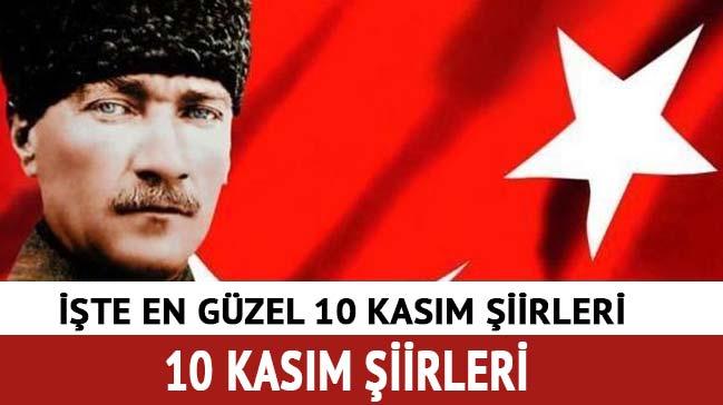 2-3 kıtalık 10 Kasım şiirleri kısa 4-5 kıtalık 10 Kasım Atatürk ile ilgili şiirleri etkinlikleri